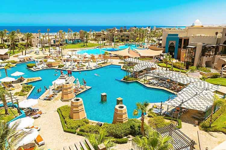 All inclusive Egypte Hotel RED SEA Siva Port Ghalib direct aan zee