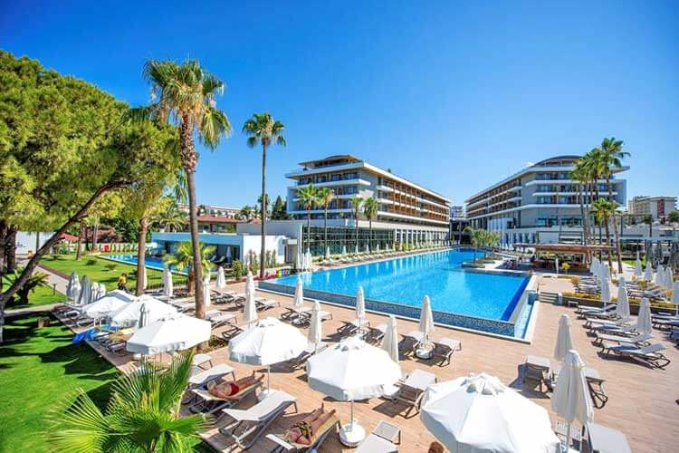 Nieuw all inclusive Hotel Barut Acanthus & Cennet Side Turkeije